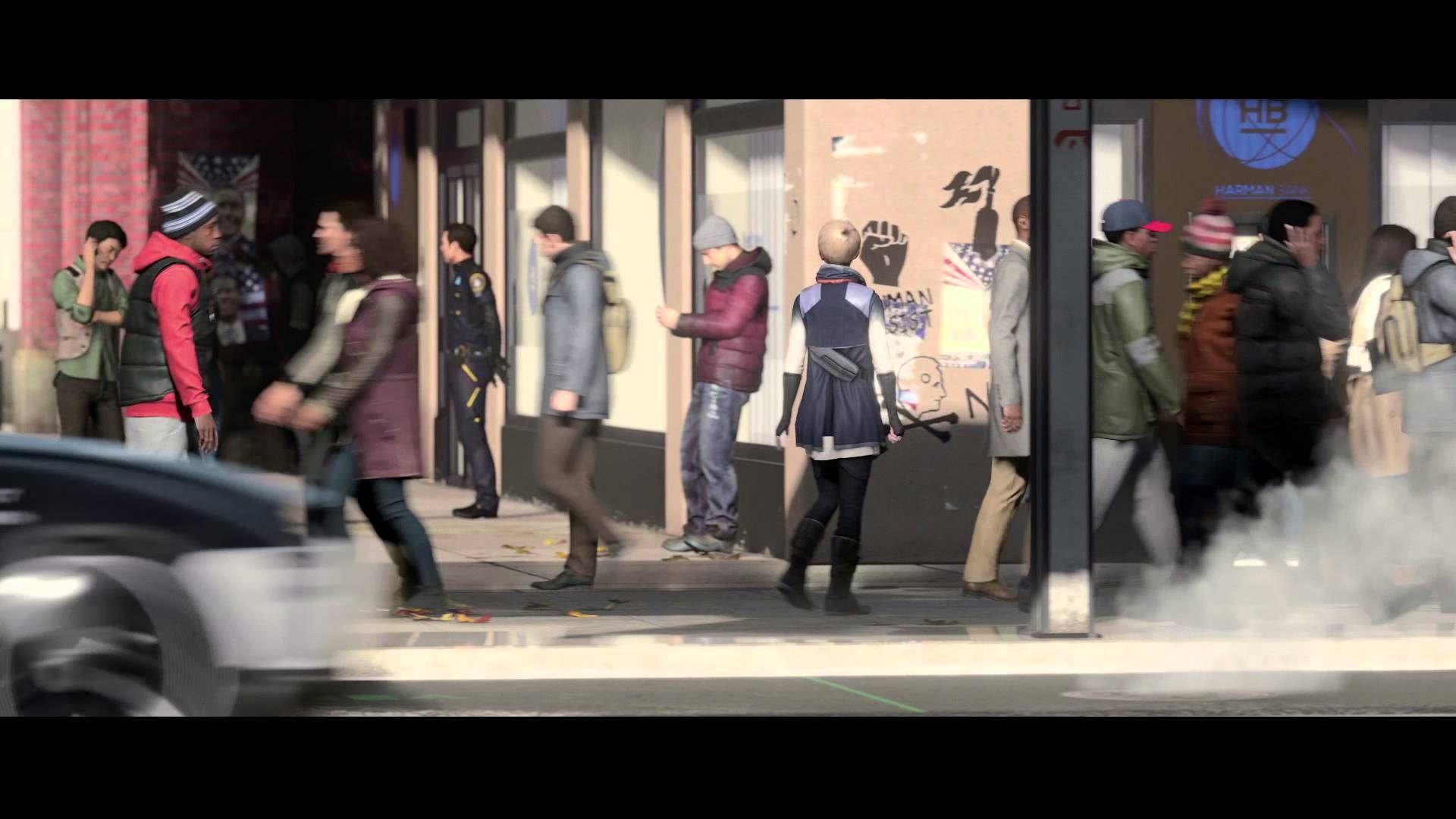 Detroit: Become Human Paris Games Week Trailer