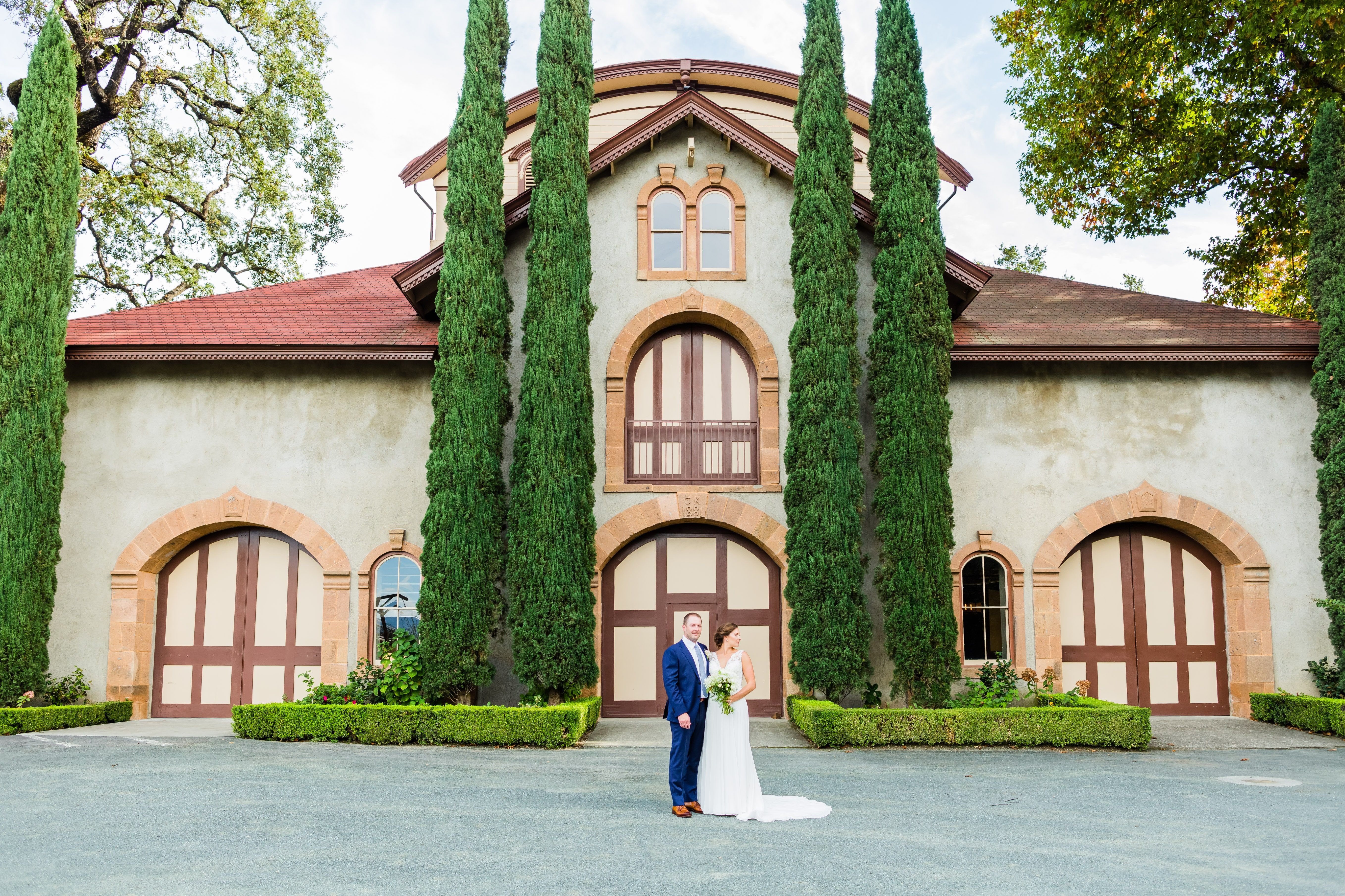 Wine country wedding venue charles krug is a perfect place for your