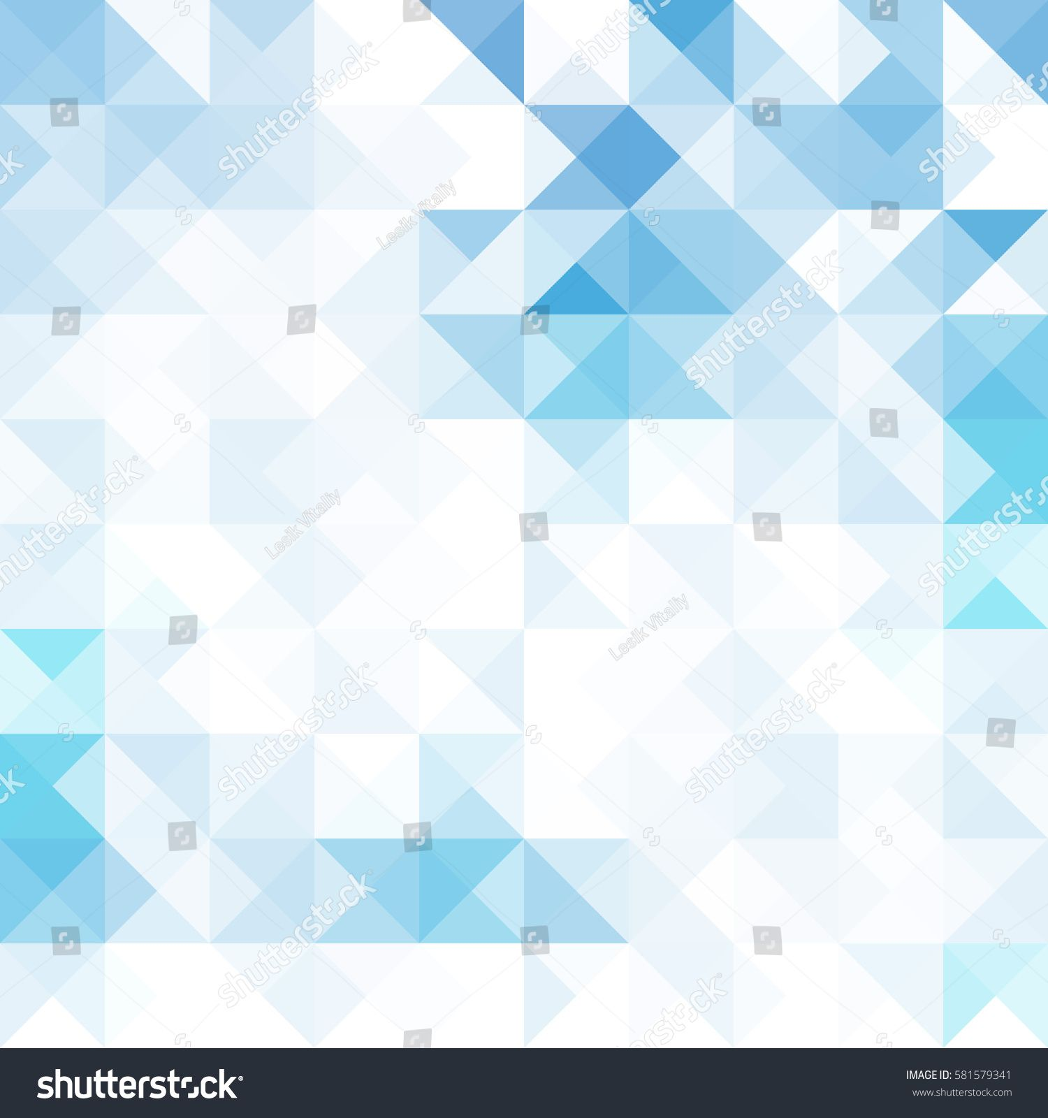 Abstract Geometric Background With Transparent Triangles Vector