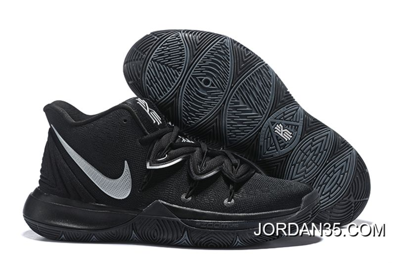 Nike Kyrie 5 Black Silver For Sale