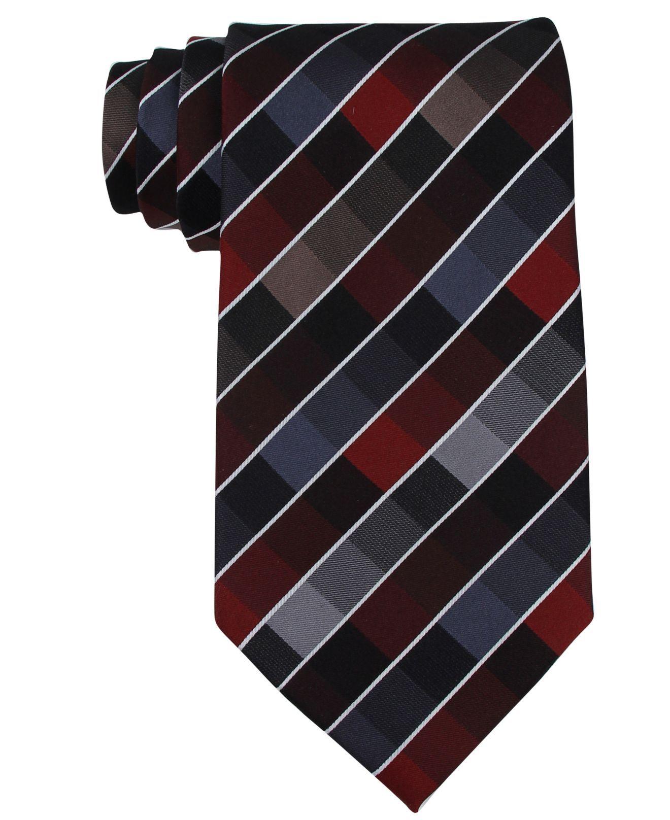 fbb958988366 Kenneth Cole Reaction Tie, Rafalla Tie - Mens Ties - Macy's ...