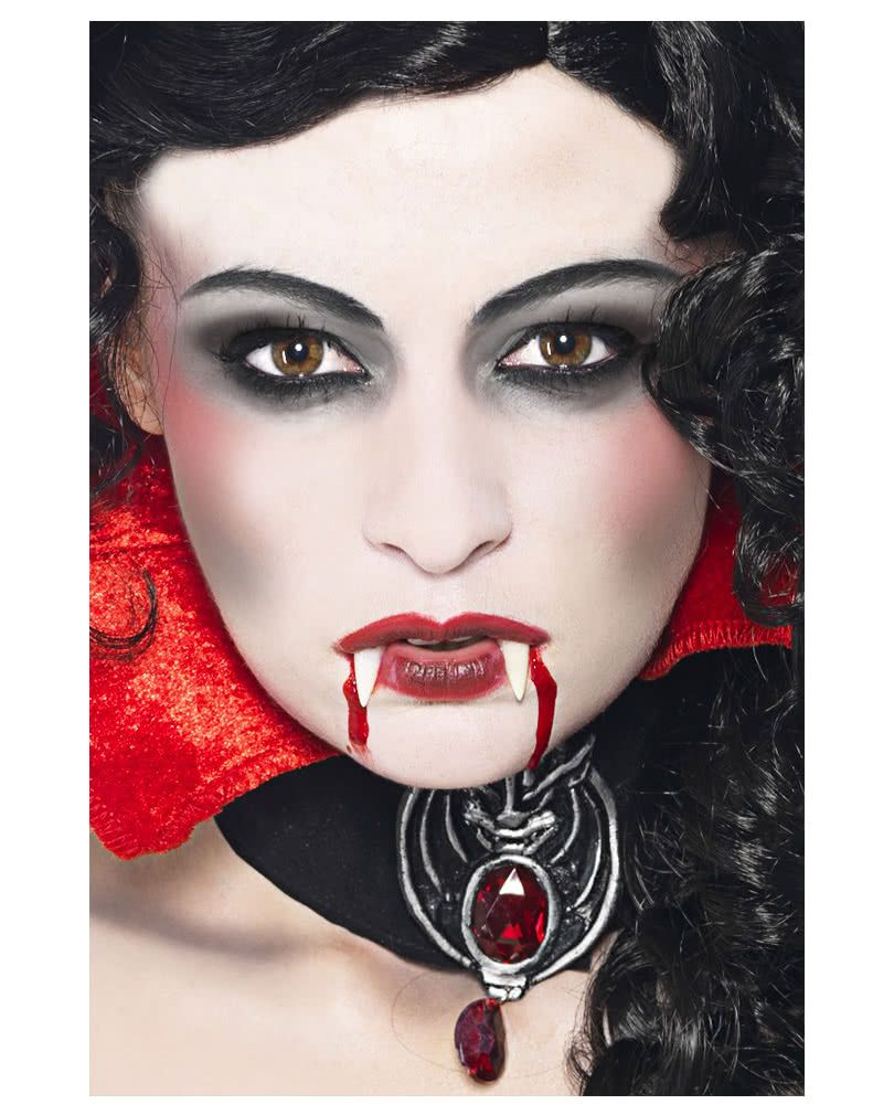 Halloween Make Up Anleitung Blutsauger Make Up Set In 2019 Halloween Schminke Vampire Face