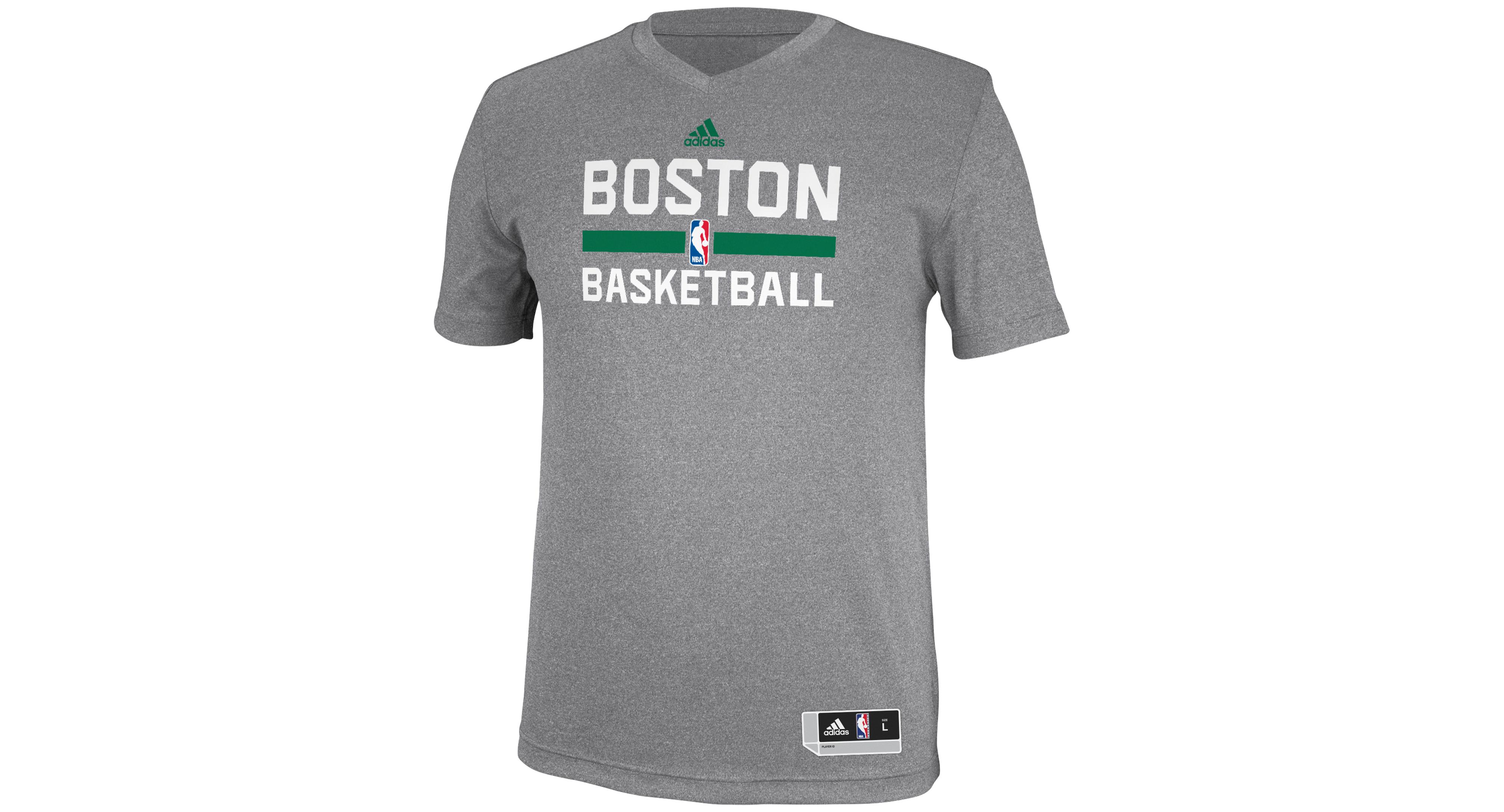 adidas Men's Boston Celtics Practice Graphic T-Shirt