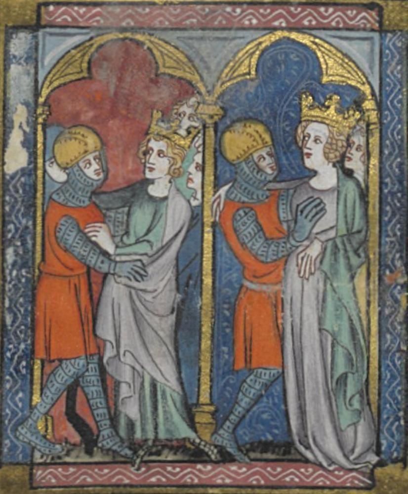 BNF Arsenal 6 Romans de la Table ronde Folio 6 Dating 6