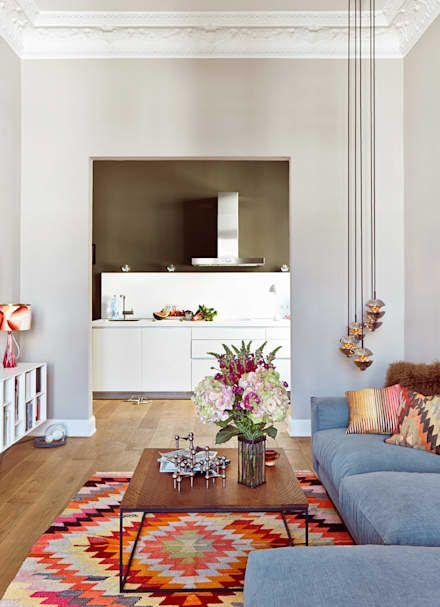 Projekt Harvestehude : Moderne Wohnzimmer Von Decorazioni