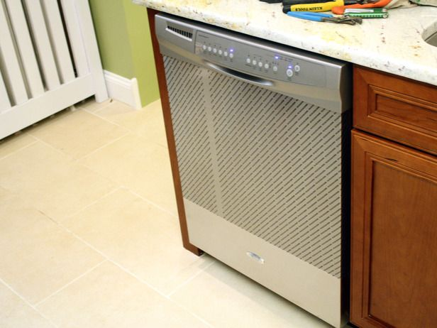 How To Install A Dishwasher Diy Network Dishwasher Installation Diy Electrical Diy Home Repair