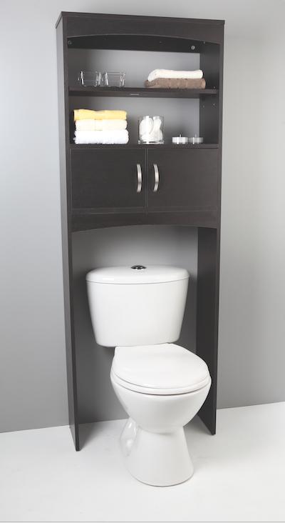 Idea para organizar ba os peque os mueble acanto corona for Gabinete de almacenamiento de bano barato