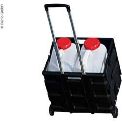 Photo of Transport trolley with folding box load capacity 35 kg Camp4camp4