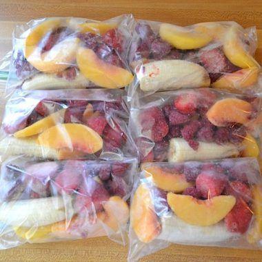 smoothie packs & my favorite smoothie - Budget Bytes