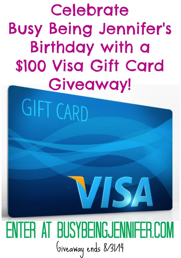 Birthday Saleabration Giveaway Giveaway Visa Gift Card And