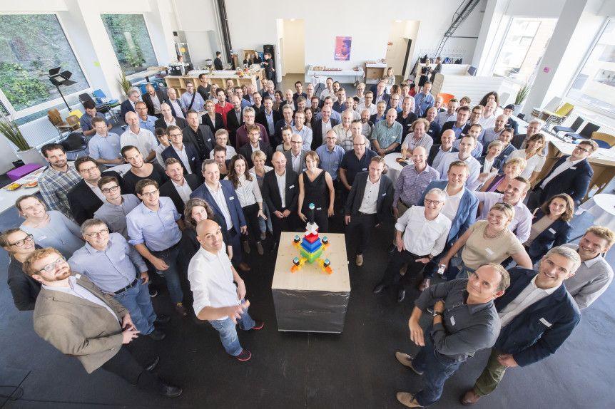 Der neue Innospace wurde auf dem Areal der früheren Gurtenbrauerei in Wabern eröffnet. Es wird ein Ort der Beschleunigung und Vernetzung von Innovation werden.