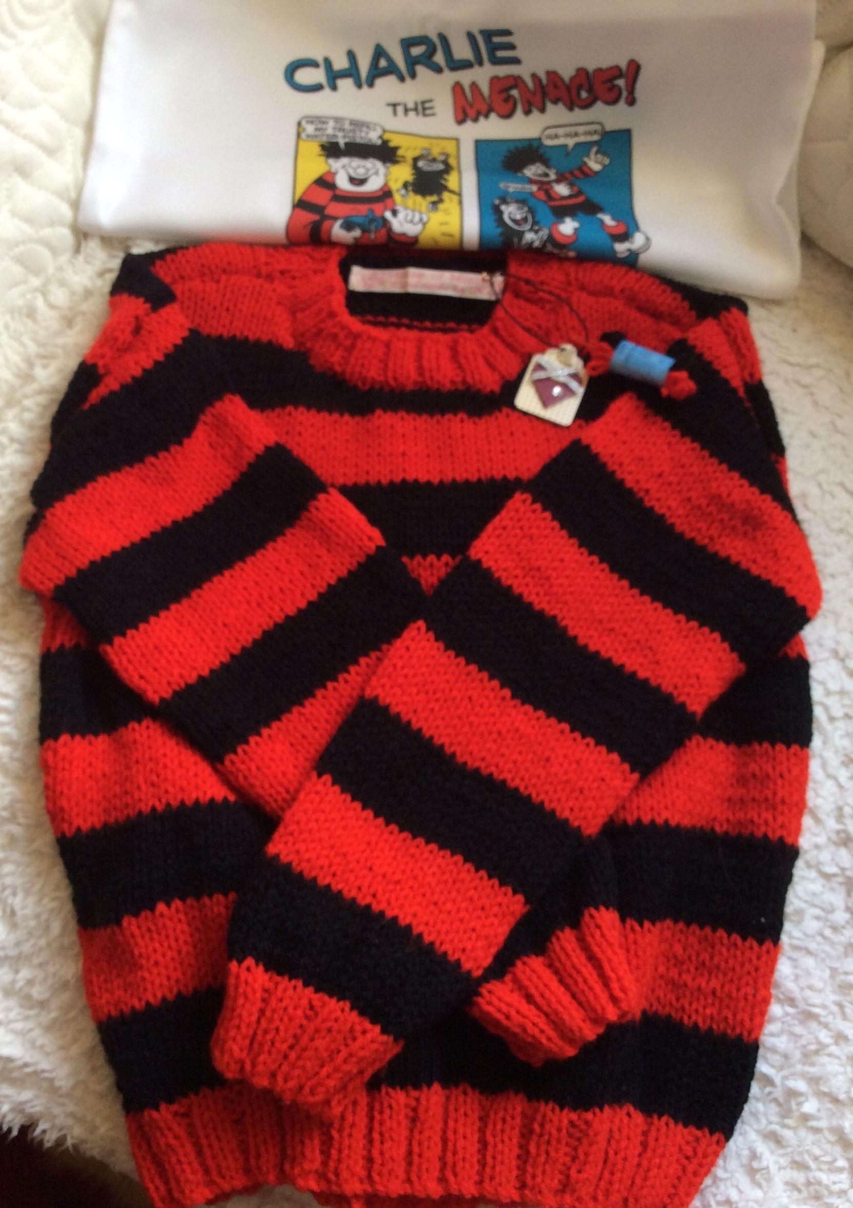 free dennis the menace knitting pattern