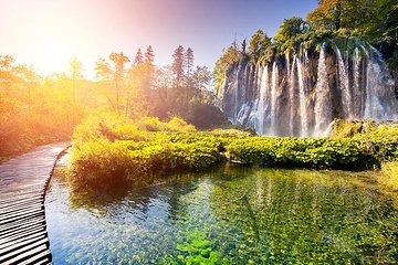 Tripadvisor Plitvice Lakes Guided Day Trip From Zagreb Provided By Wanderer Travel Day Trips Central Croatia Plitvice Lakes Plitvice Lakes National Park Waterfall