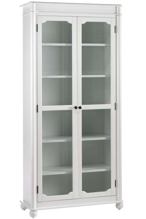 Bookcase With Gl Doors Target