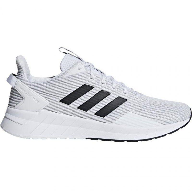 Buty Biegowe Adidas Questar Ride M F34982 Biale Czarne Adidas Running Shoes White Shoes Men Adidas Shoes