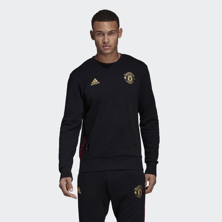 Manchester United Chinese New Year Sweatshirt Black Dz0458 Mens Sweatshirts