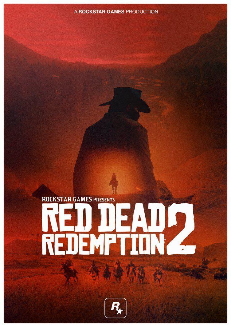 Red Dead Redemption 2 Poster by iFadeFresh on DeviantArt