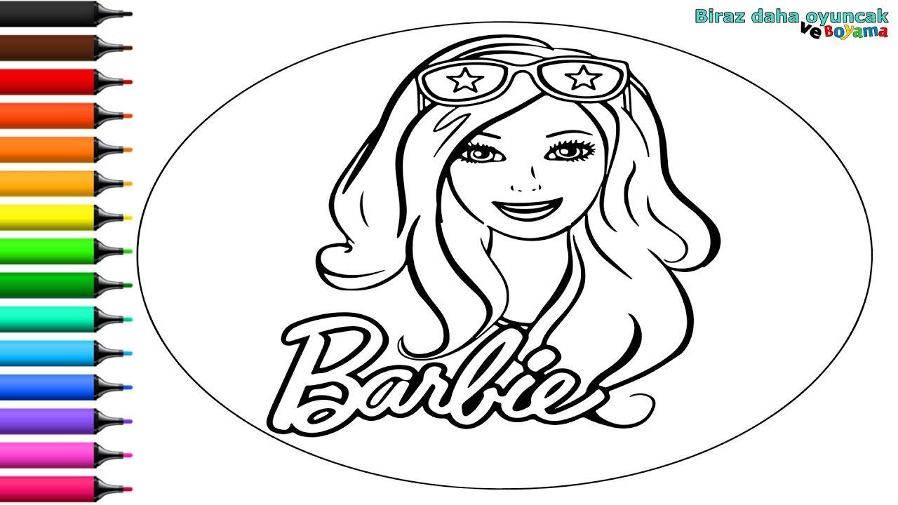 Barbie Boyama Sayfasi Cocuklar Icin Cizip Boyama Videolari