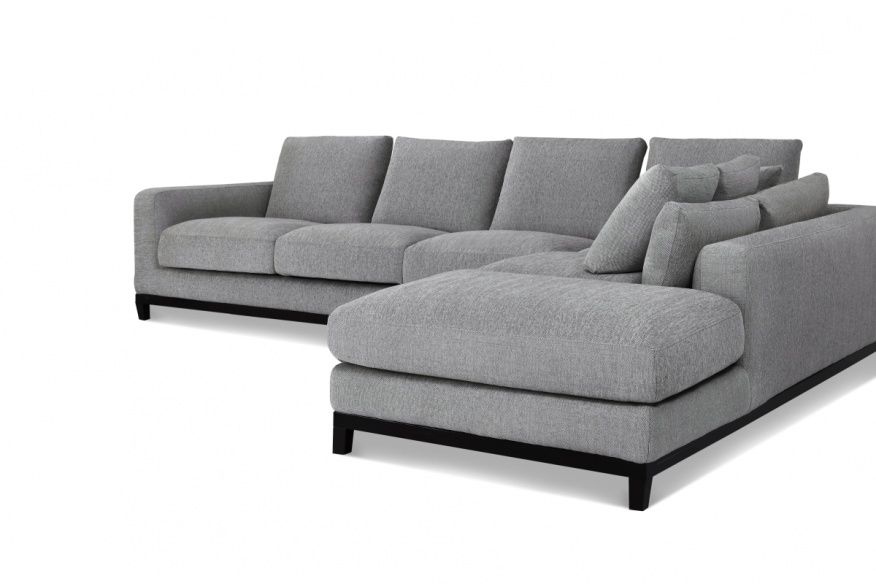 Tweed Sectional Sofa