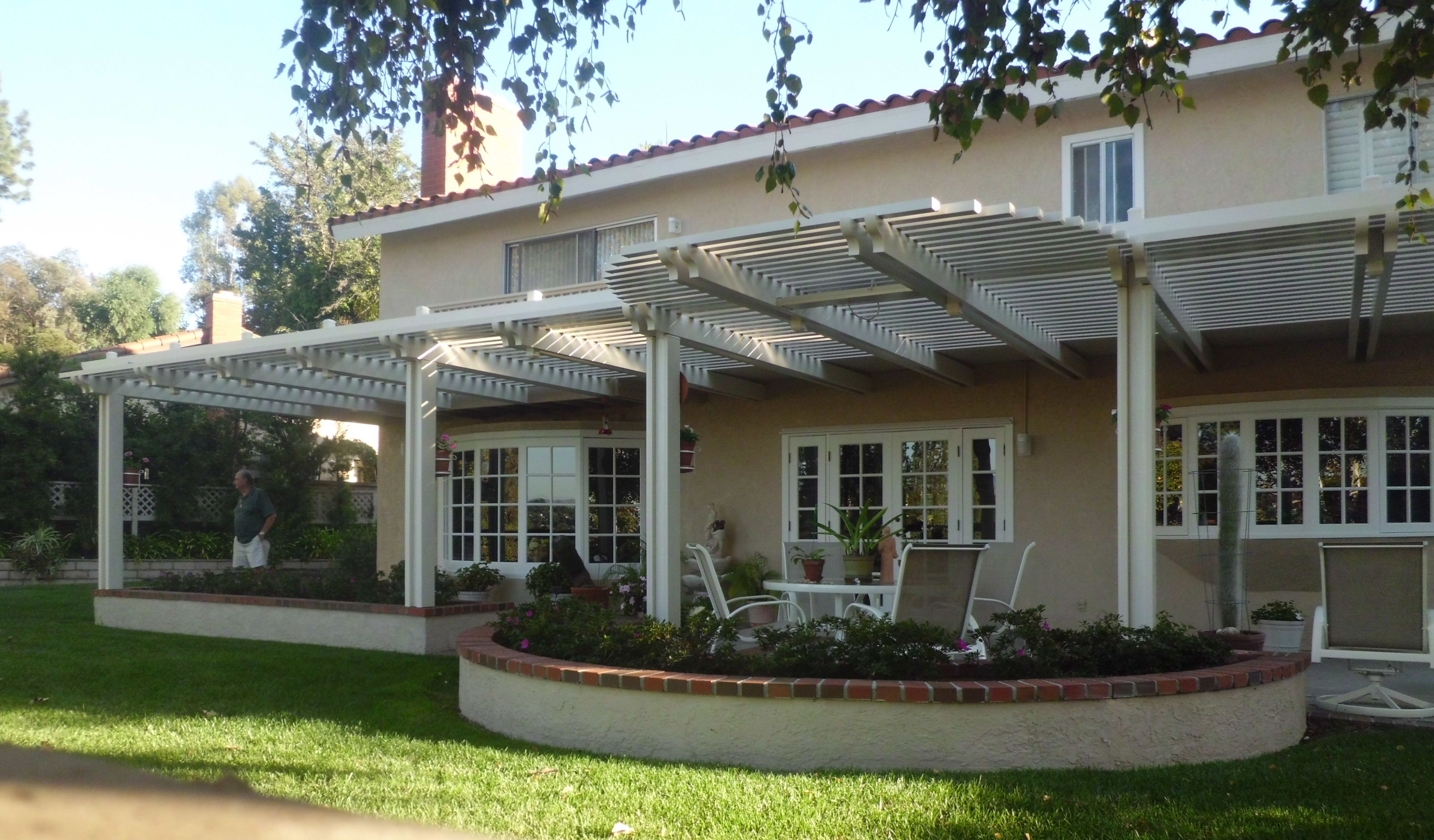 covered patio ideas | Open patio cover with radius - The ...