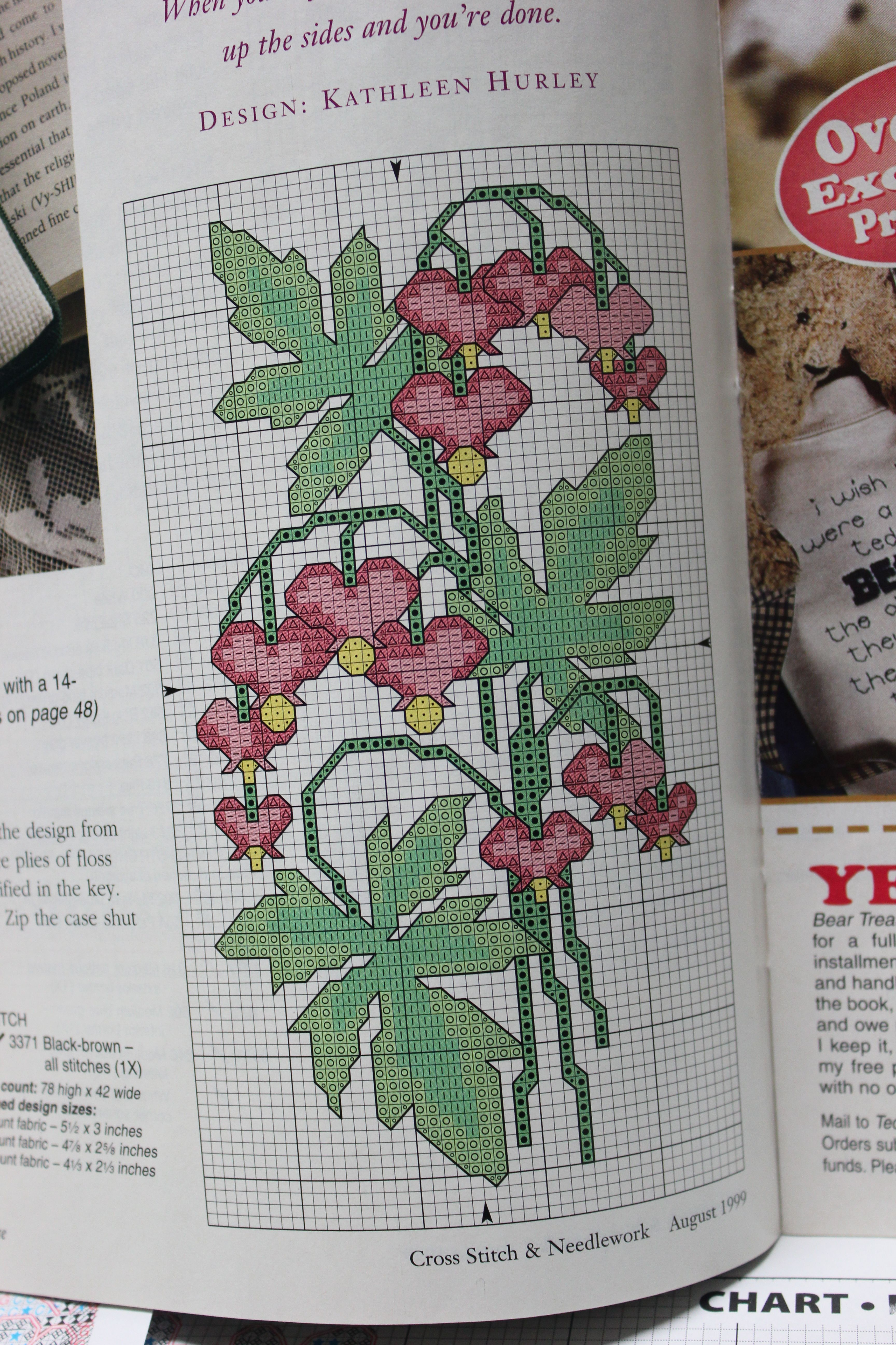 Chart Counted Cross Stitch Patterns Needlework To Grandma/'s House We Go