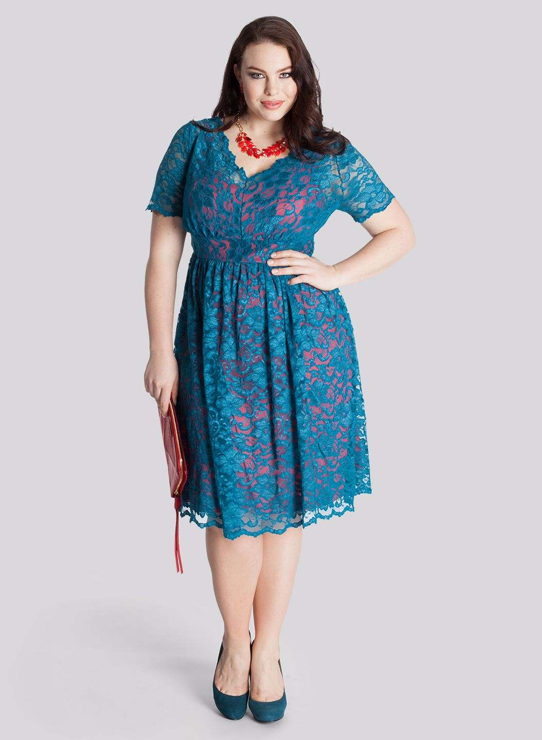 Plus Size Wedding Guest Dresses For Summer Island Wedding