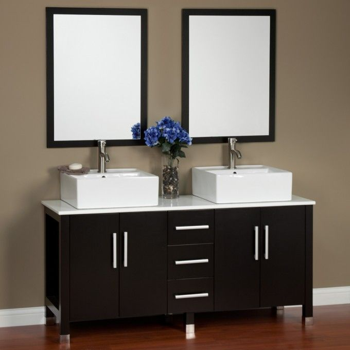 60 Malin Double Vanity With Mirrors Ideas For The House