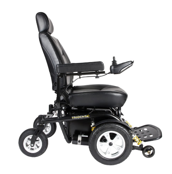 Drive Medical Trident Hd Front Wheel Drive Power Chair In 2020 Powered Wheelchair Trident Medical