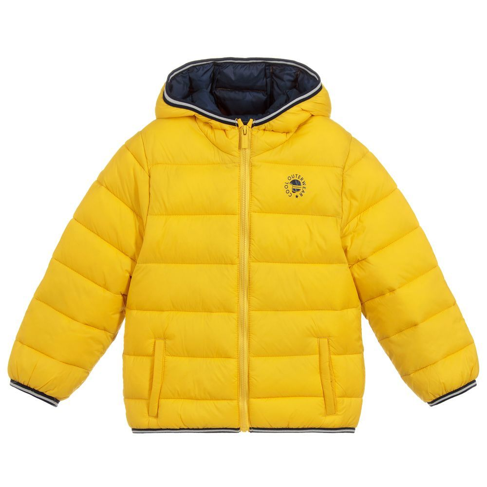 f40094419b3e Boys Yellow Puffer Jacket for Boy by Mayoral. Discover the latest ...