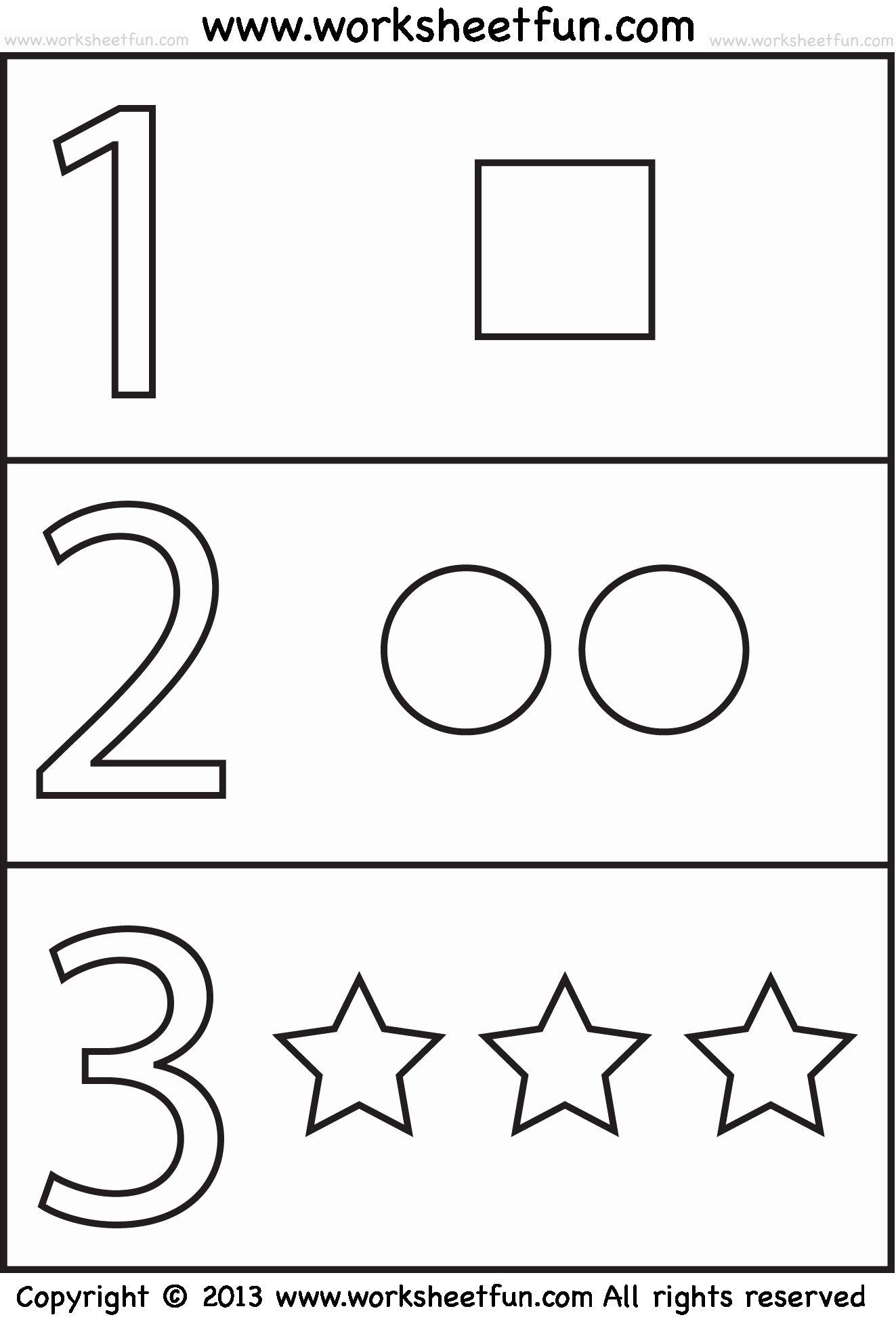 Preschool Worksheets Age 2 In 2020 Free Preschool Worksheets Preschool Worksheets Numbers Preschool