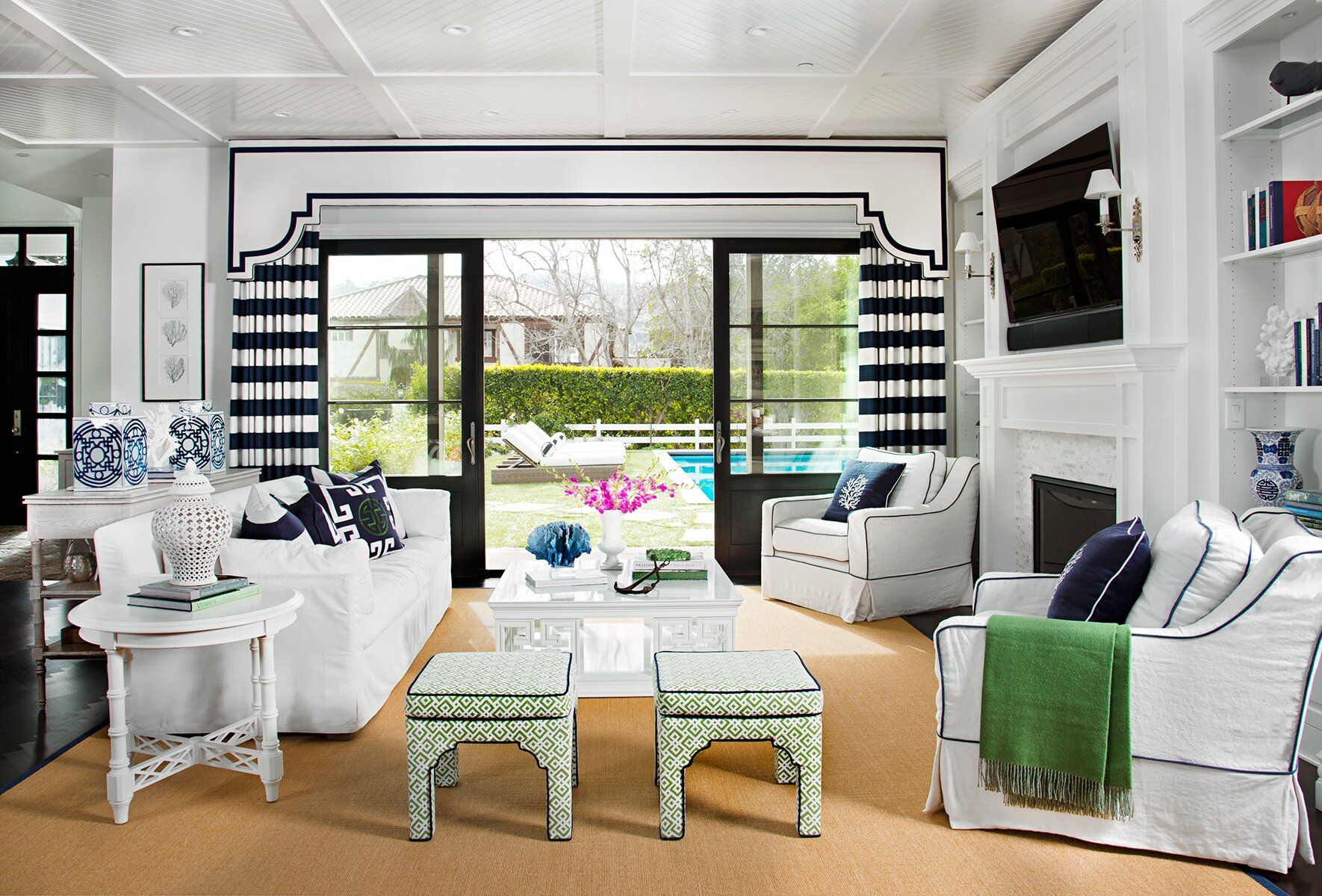 11 Stylish Window Treatments for Sliding Doors | Sliding ...