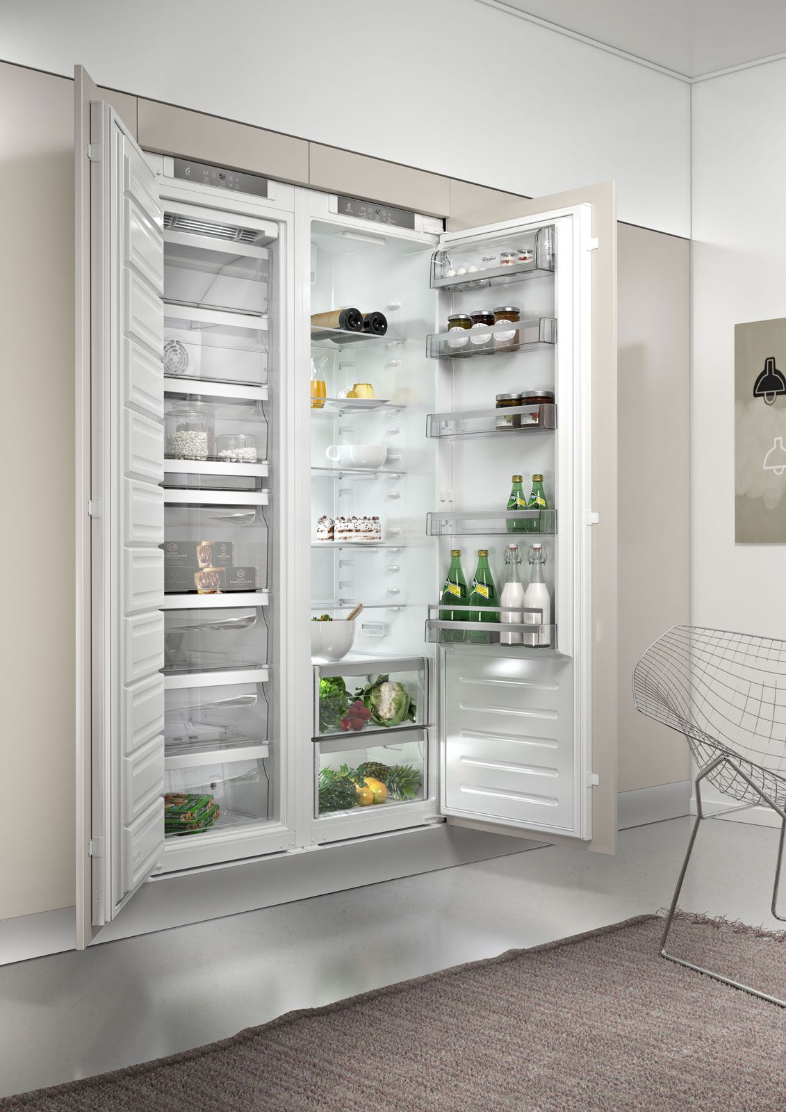 Frigo incasso whirpool | A - Home - kitchen appliance | Pinterest ...