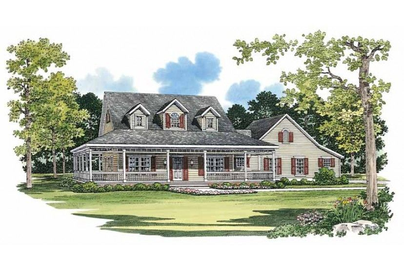 Home Plan HOMEPW14817 - 2090 Square Foot, 3 Bedroom 2 ...