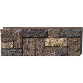 nextstone tuscan brown castle rock faux stone veneer panels 138 00