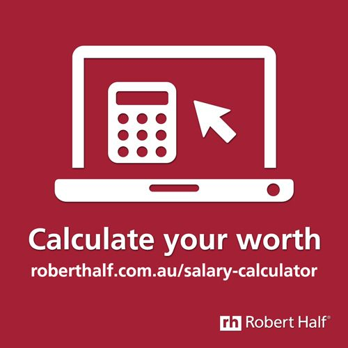 What are you worth? Find out with the Robert Half #Salary - salary calculator