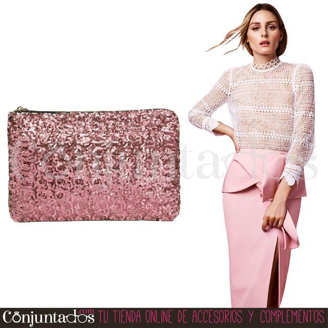 Bolso-cartera de mano con lentejuelas en rosa ★ 11,95 € en https://www.conjuntados.com/es/bolso-cartera-de-mano-con-lentejuelas-circulares-en-rosa.html ★ #novedades #bolso #handbag #purse #crossbodybag #conjuntados #conjuntada #accesorios #lowcost #complementos #moda #eventos #boda #invitadaperfecta #fashion #fashionadicct #picoftheday #outfit #estilo #style #GustosParaTodas #ParaTodosLosGustos