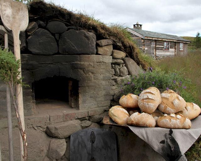 The lost art of the stone oven is a passion at the Forest House Sanctuary.