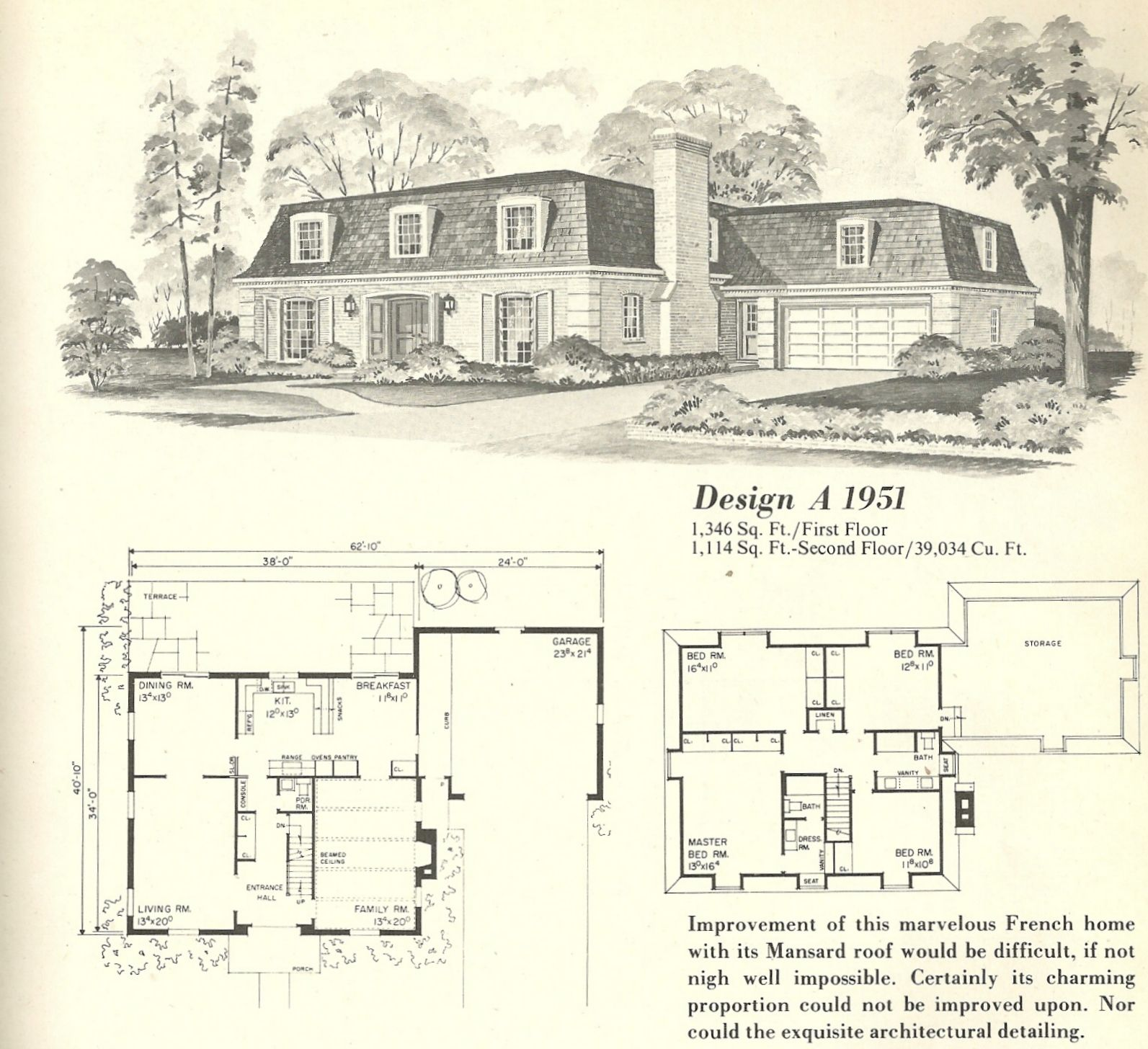 Visit The Post For More Vintage House Plans Vintage House How To Plan