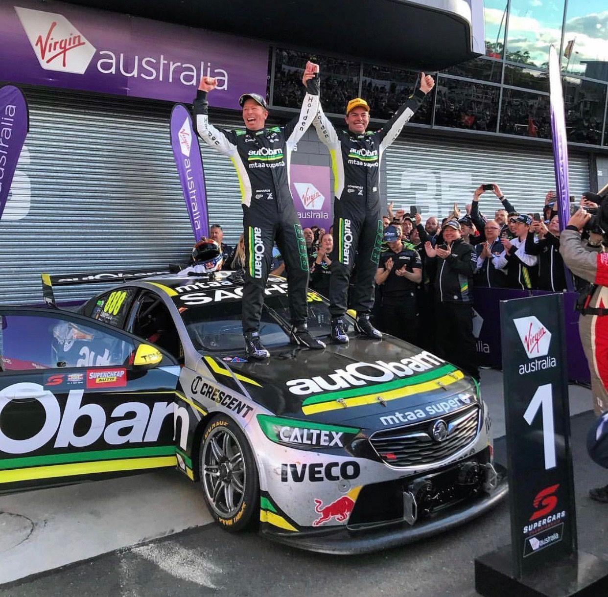 Craig Lowndes Stephen Richards 2018 Bathurst Winners On Ya Boys Super Cars V8 Supercars Australia Aussie Muscle Cars