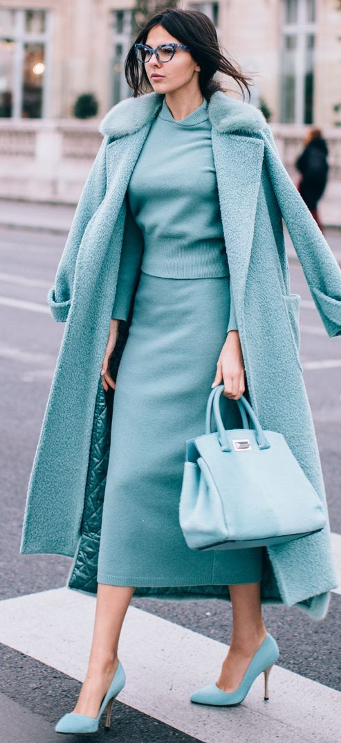 All Everthing Mint Fall Street Style Inspo by The Golden Diamonds