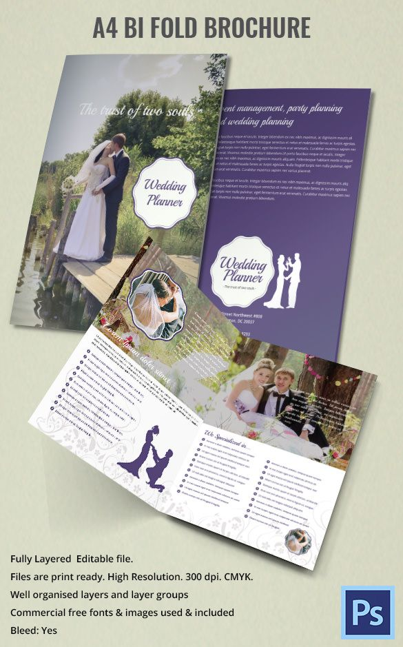 Printable Bi Fold Brochure 67 Free Word Psd Pdf Eps Indesign