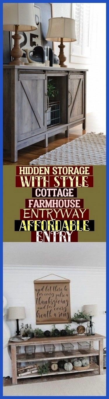 Storage With Style Cottage Farmhouse Entryway  Affordable Entry Hidden Storage With Style Cottage Farmhouse Entryway  Affordable Entry  All prices are quoted per square f...