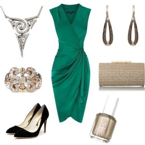 Green Dress For A Wedding Guest