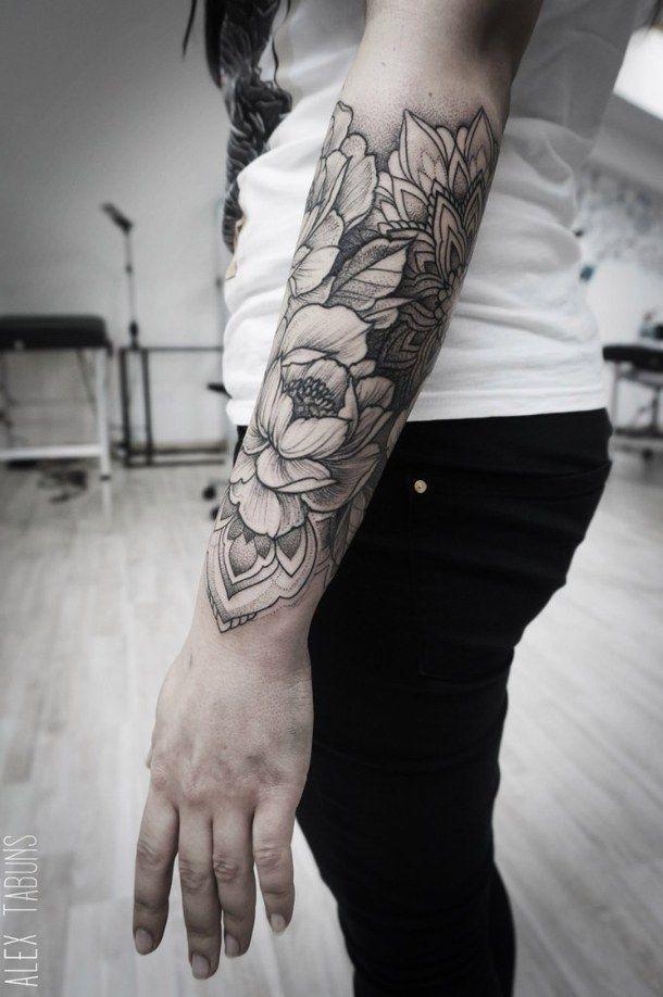 Flower Arm Tattoos: Arm, Flowers, Sleeve, Tattoo