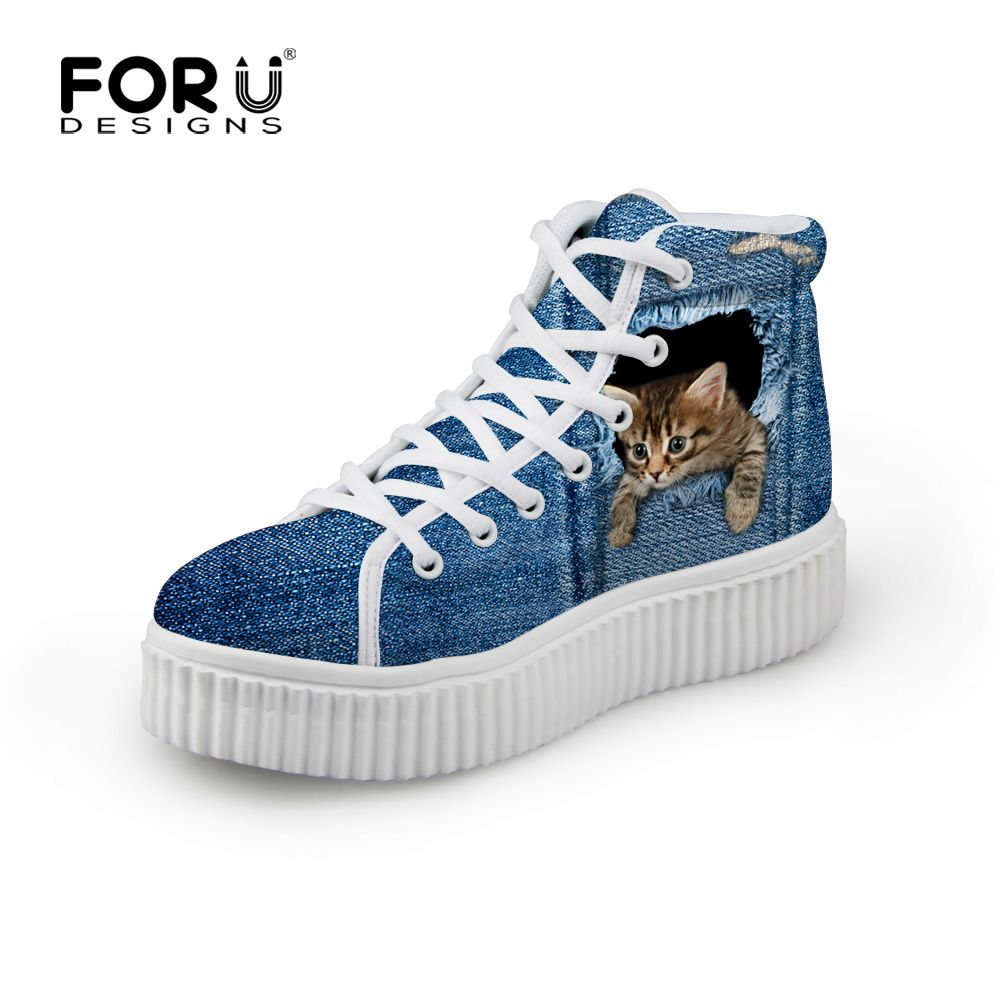 Cute Dog Paw Print Sketch Women¡s Casual Shoes Sneakers Skateboard Sports Spring Designer