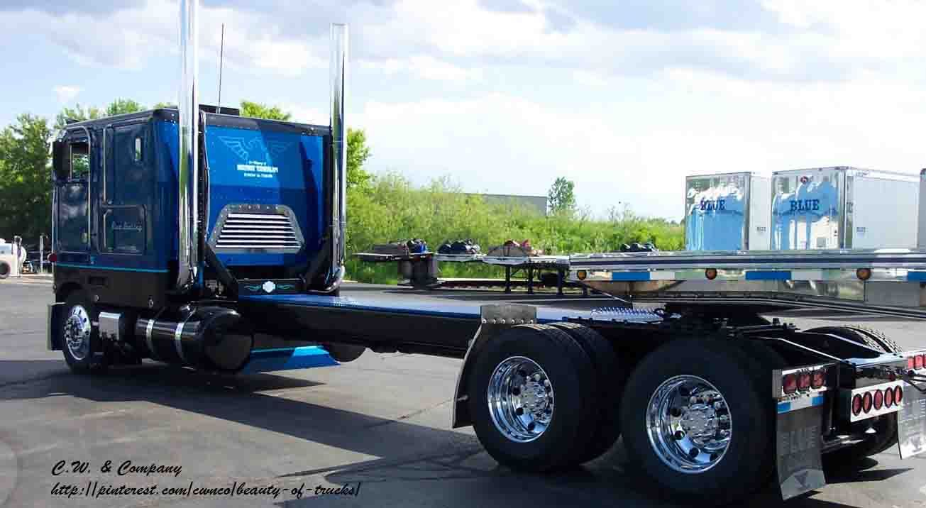 Awesome peterbilt cab over trucks pinterest peterbilt rigs and biggest truck