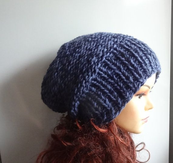 knit hat slouchy women men Winter Hat  Fall Winter by Ifonka