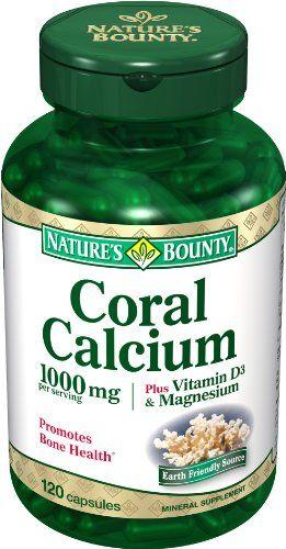 Natures Bounty Coral Calcium Plus Vitamin D3 And Magnesium 1000mg 120 Capsules Visit The Affiliate Link Amazon Calcium Magnesium Zinc Supplements Magnesium