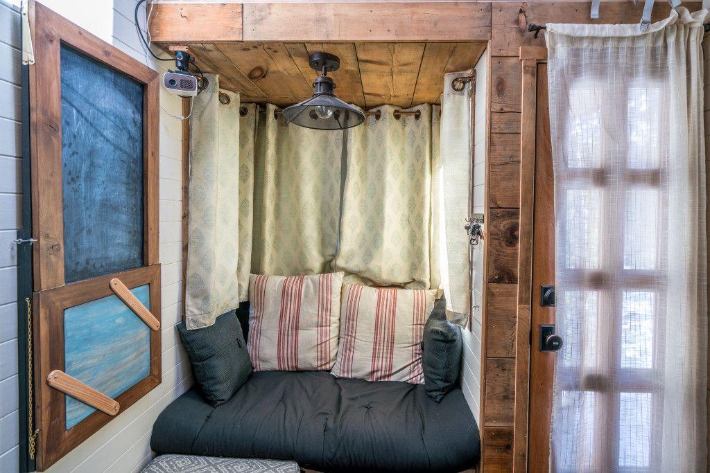 Copper Curtain Rods Easy Diy For Tiny Home Interior Design Tiny