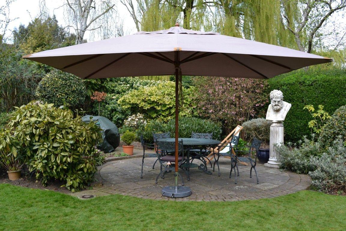 Garden Rectangular Outdoor Umbrella Visit Http Www Versatile Ae Parasol Outdoorumbrella Large Garden Parasol Outdoor Patio Umbrellas Best Patio Umbrella